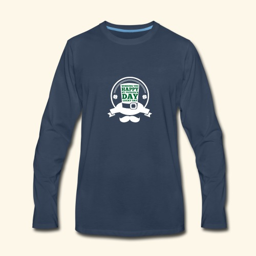 patrick day - Men's Premium Long Sleeve T-Shirt