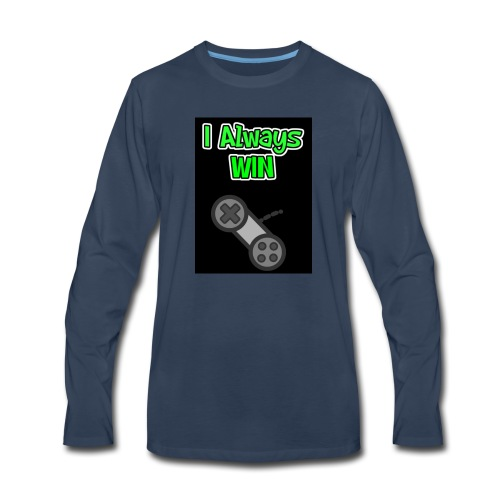I always win - Men's Premium Long Sleeve T-Shirt