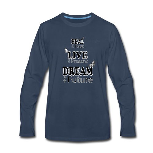 Heal the Past - Men's Premium Long Sleeve T-Shirt