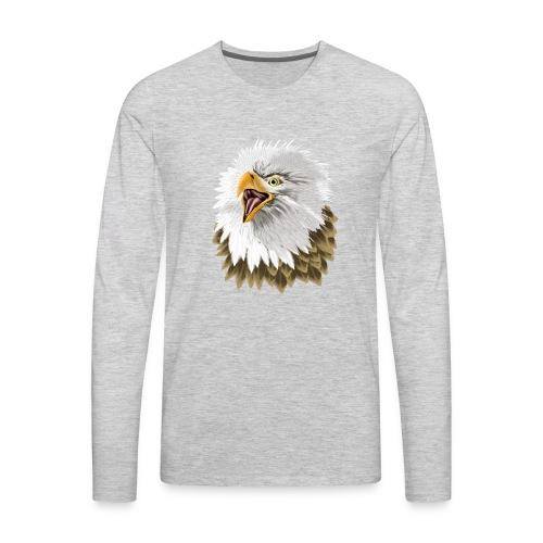 Big, Bold Eagle - Men's Premium Long Sleeve T-Shirt