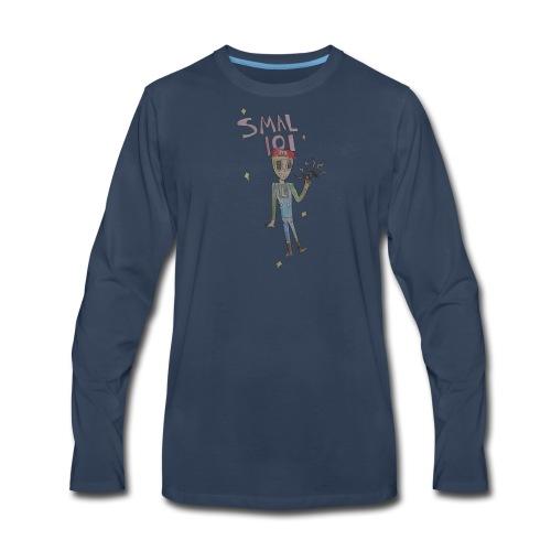 THE SMAL 101 FANART LOGO - Men's Premium Long Sleeve T-Shirt