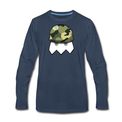 Null Army Logo - Men's Premium Long Sleeve T-Shirt