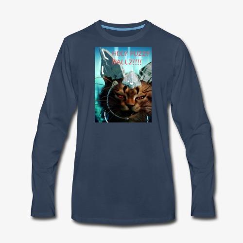 Fuzzy ballz - Men's Premium Long Sleeve T-Shirt