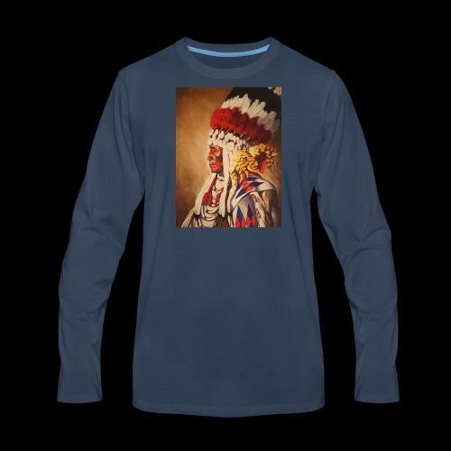 Chief - Men's Premium Long Sleeve T-Shirt