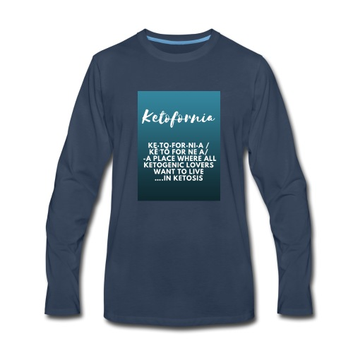Ketofornia - Men's Premium Long Sleeve T-Shirt