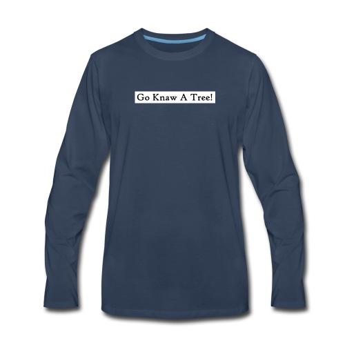 GKAT Black - Men's Premium Long Sleeve T-Shirt