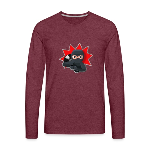 MERACHKA ICON LOGO - Men's Premium Long Sleeve T-Shirt
