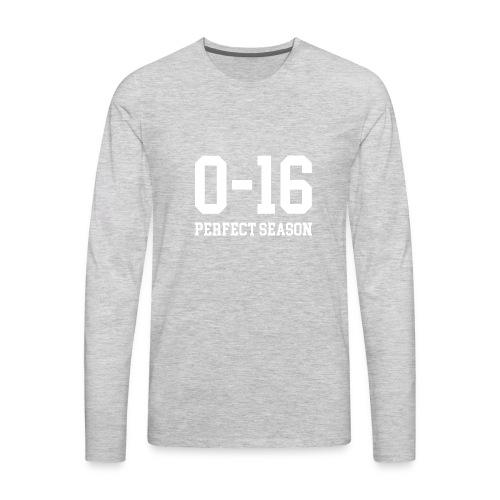 Detroit Lions 0 16 Perfect Season - Men's Premium Long Sleeve T-Shirt