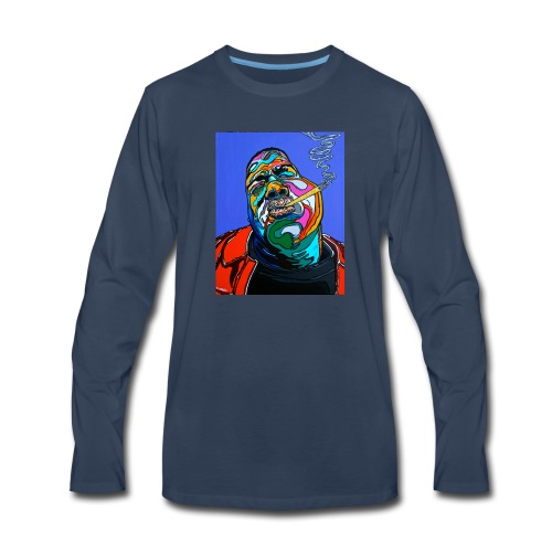 Notorious-B-I-G set 1 - Men's Premium Long Sleeve T-Shirt