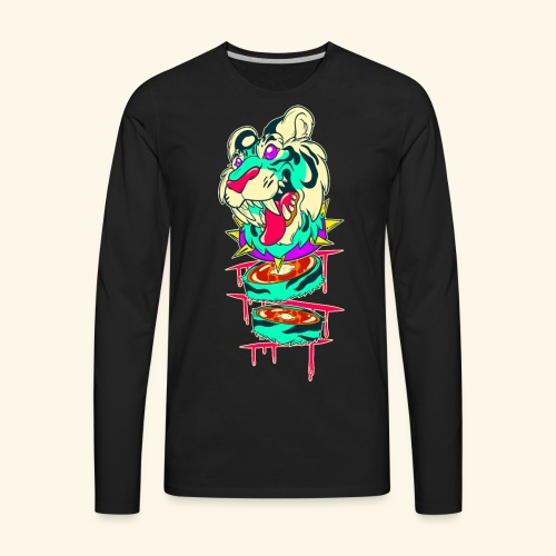 - Decaptiger - - Men's Premium Long Sleeve T-Shirt
