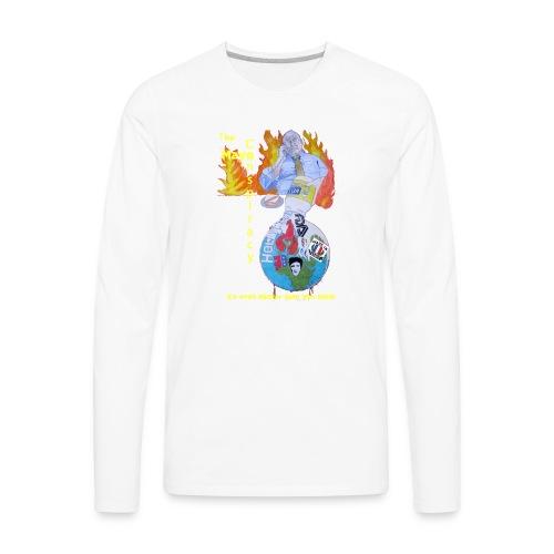 Mayo-Conspiracy - Men's Premium Long Sleeve T-Shirt