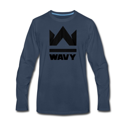 Too Wavy - Men's Premium Long Sleeve T-Shirt