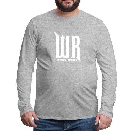 Wachler Records Light Logo - Men's Premium Long Sleeve T-Shirt