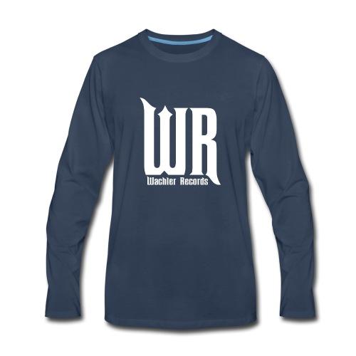 Wachler Records Light Logo - Men's Premium Long Sleeve T-Shirt