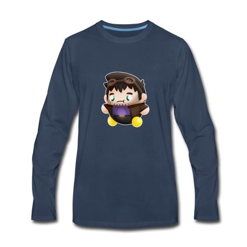 Poet Bumpkin png - Men's Premium Long Sleeve T-Shirt