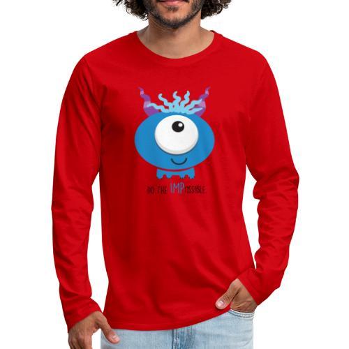 IMPossible Logo - Men's Premium Long Sleeve T-Shirt