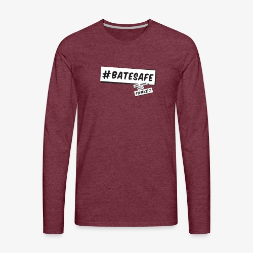 ATTF BATESAFE - Men's Premium Long Sleeve T-Shirt