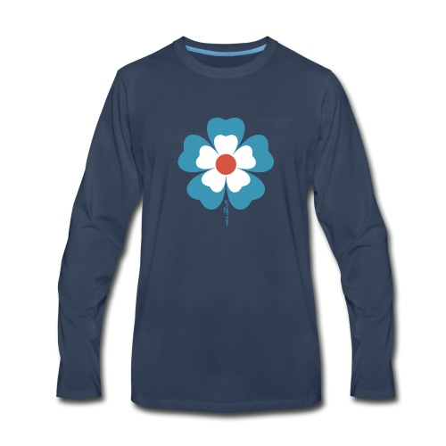 flower time - Men's Premium Long Sleeve T-Shirt