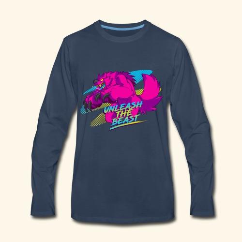 - Unleash the Beast - - Men's Premium Long Sleeve T-Shirt