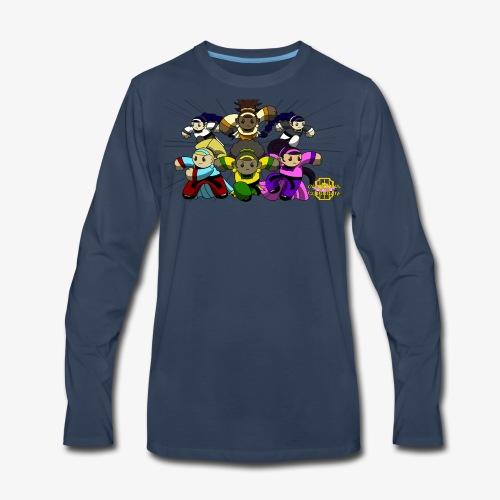 The Guardians of the Cloudgate w/ Logo - Men's Premium Long Sleeve T-Shirt