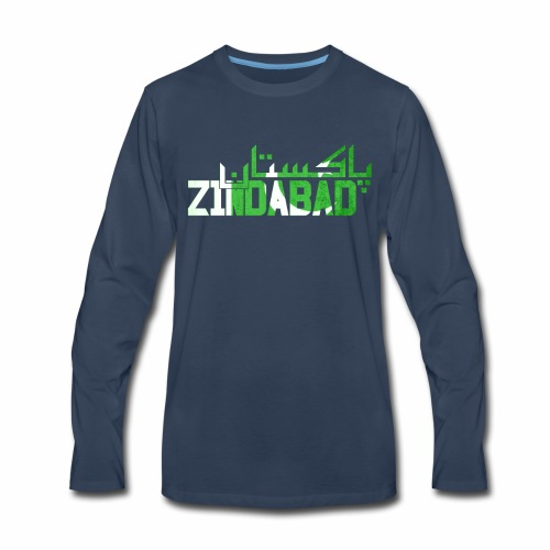 14th August Pakistan Independence Day - Men's Premium Long Sleeve T-Shirt
