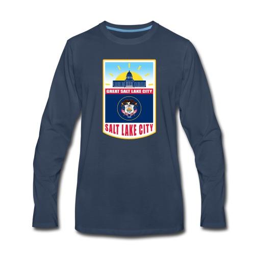 Utah - Salt Lake City - Men's Premium Long Sleeve T-Shirt