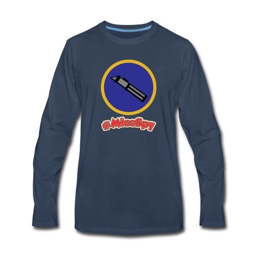 Star Wars Launch Bay Explorer Badge - Men's Premium Long Sleeve T-Shirt