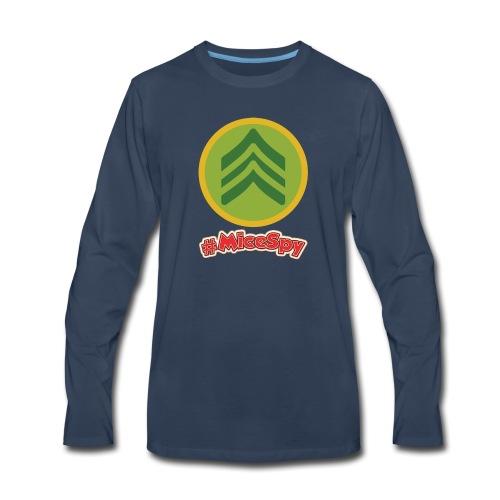 Sarges Surplus Hut Explorer Badge - Men's Premium Long Sleeve T-Shirt
