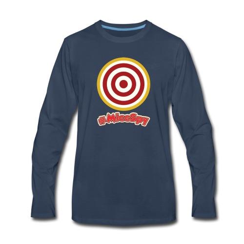 Shootin Gallery Explorer Badge - Men's Premium Long Sleeve T-Shirt
