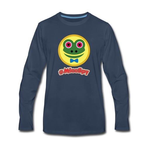Mr Toad Explorer Badge - Men's Premium Long Sleeve T-Shirt
