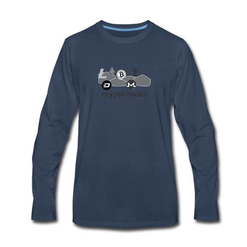 cryptorocks t-shirt - Men's Premium Long Sleeve T-Shirt