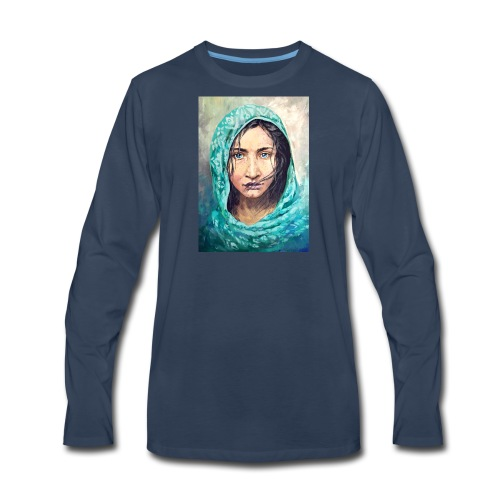 portrait - Men's Premium Long Sleeve T-Shirt
