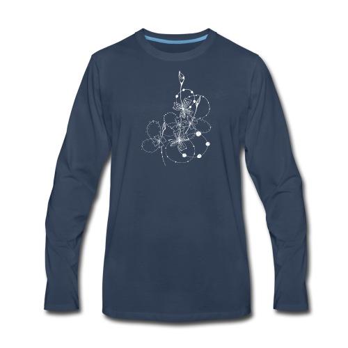 Night flower - Men's Premium Long Sleeve T-Shirt