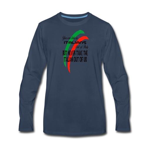 Italian top - Men's Premium Long Sleeve T-Shirt
