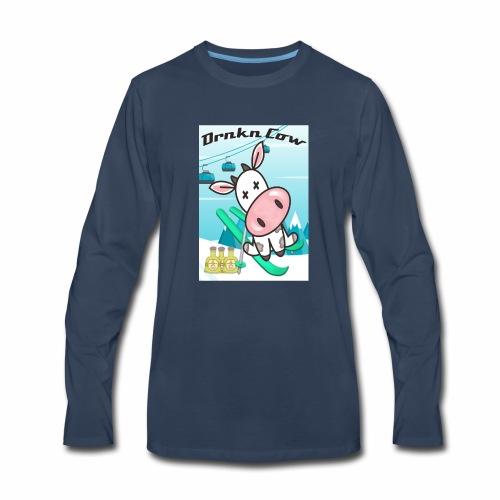 drunkencowski - Men's Premium Long Sleeve T-Shirt