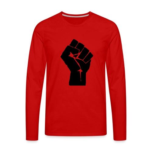 team riot logo - Men's Premium Long Sleeve T-Shirt