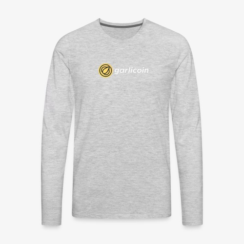 Garlicoin - Men's Premium Long Sleeve T-Shirt