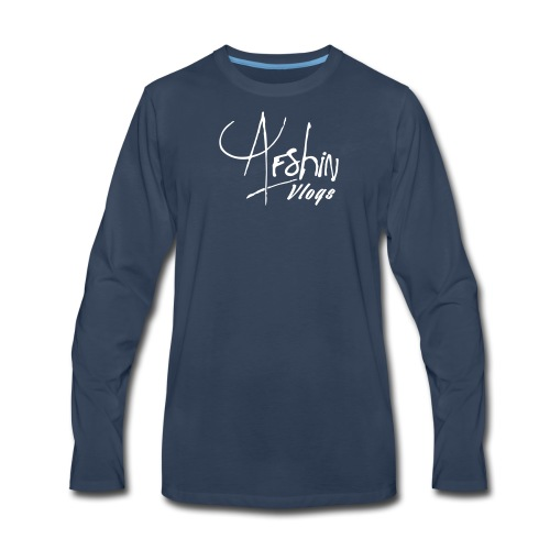 Afshin Vlogs Merchandise - Men's Premium Long Sleeve T-Shirt