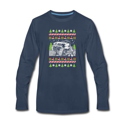 Ugly Christmas Wrangler - Men's Premium Long Sleeve T-Shirt