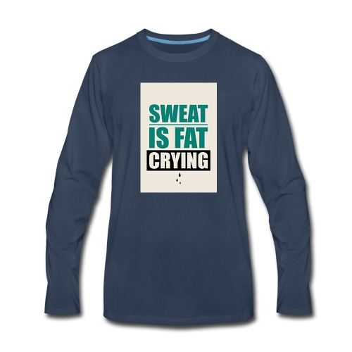 Gym Motivation 2017 Tank Top - Men's Premium Long Sleeve T-Shirt