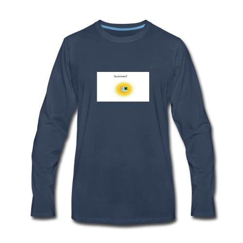 Mathify summer design - Men's Premium Long Sleeve T-Shirt