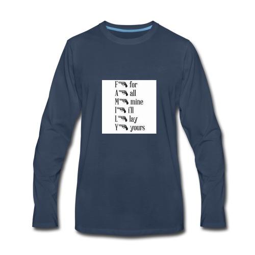 Family is important - Men's Premium Long Sleeve T-Shirt