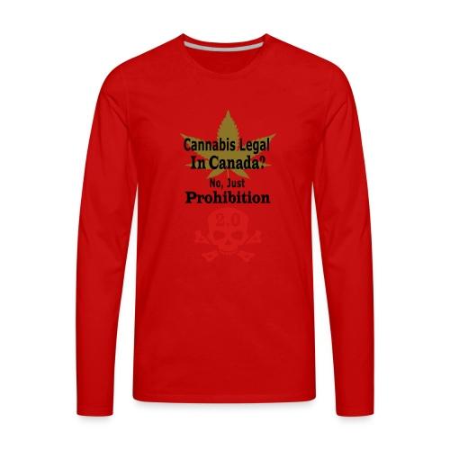 prohibition - Men's Premium Long Sleeve T-Shirt