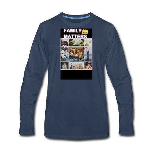 Family matter - Men's Premium Long Sleeve T-Shirt