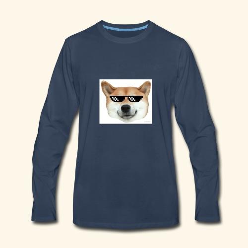 DOG THUG - Men's Premium Long Sleeve T-Shirt
