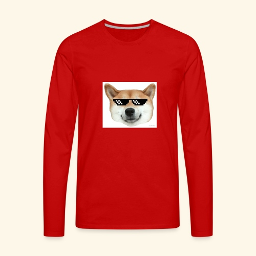 DOG THUG - Men's Premium Long Sleeve T-Shirt