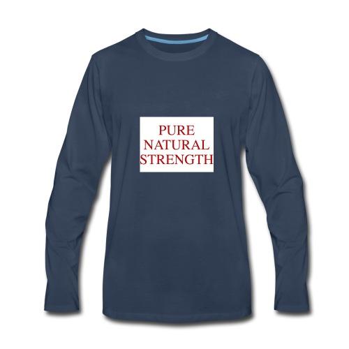Natural Strength - Men's Premium Long Sleeve T-Shirt