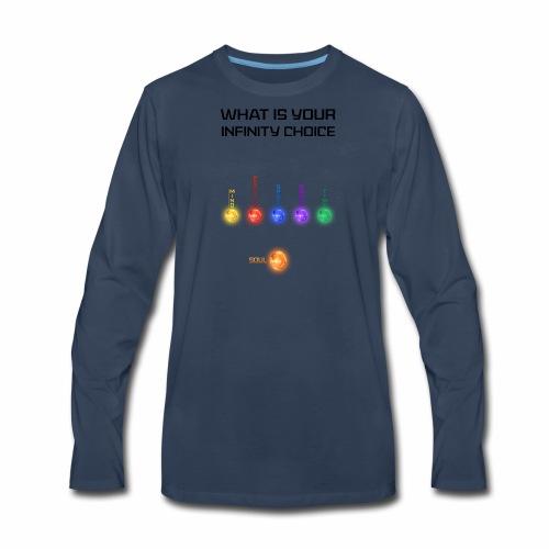 Infinity Choice [ Infinity War ] - Men's Premium Long Sleeve T-Shirt