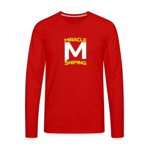 Miracle Sniping - Men's Premium Long Sleeve T-Shirt