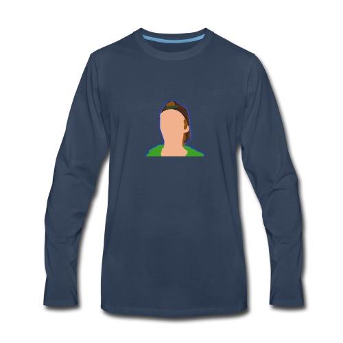iCanE Cartoon - Men's Premium Long Sleeve T-Shirt